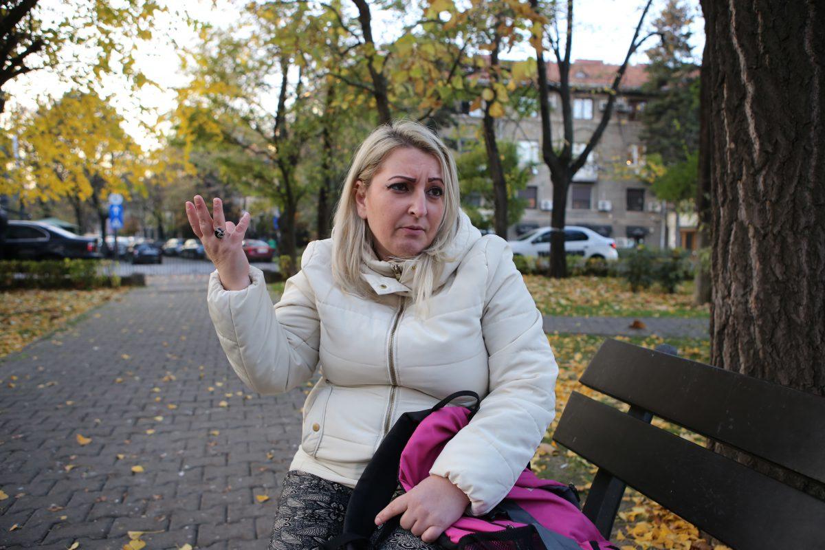 Florentina Crăciun a povestit reporterilor Libertatea, cu lacrimi în ochi, cum a fost hărţuită sexual şi agresată de Al-Azzawi