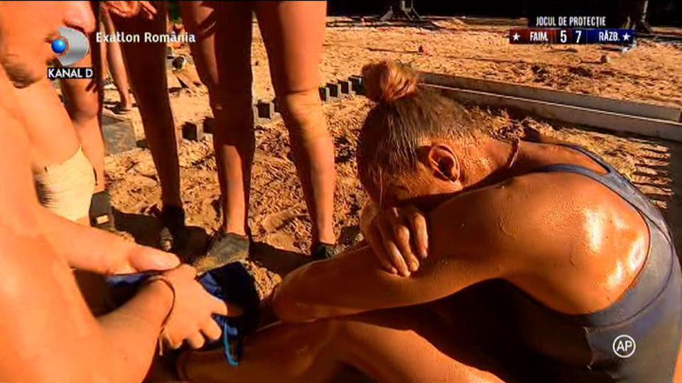 Ana Otvoș s-a prăbușit la pământ. Concurenta de la Exatlon a avut nevoie de ajutorul medicilor