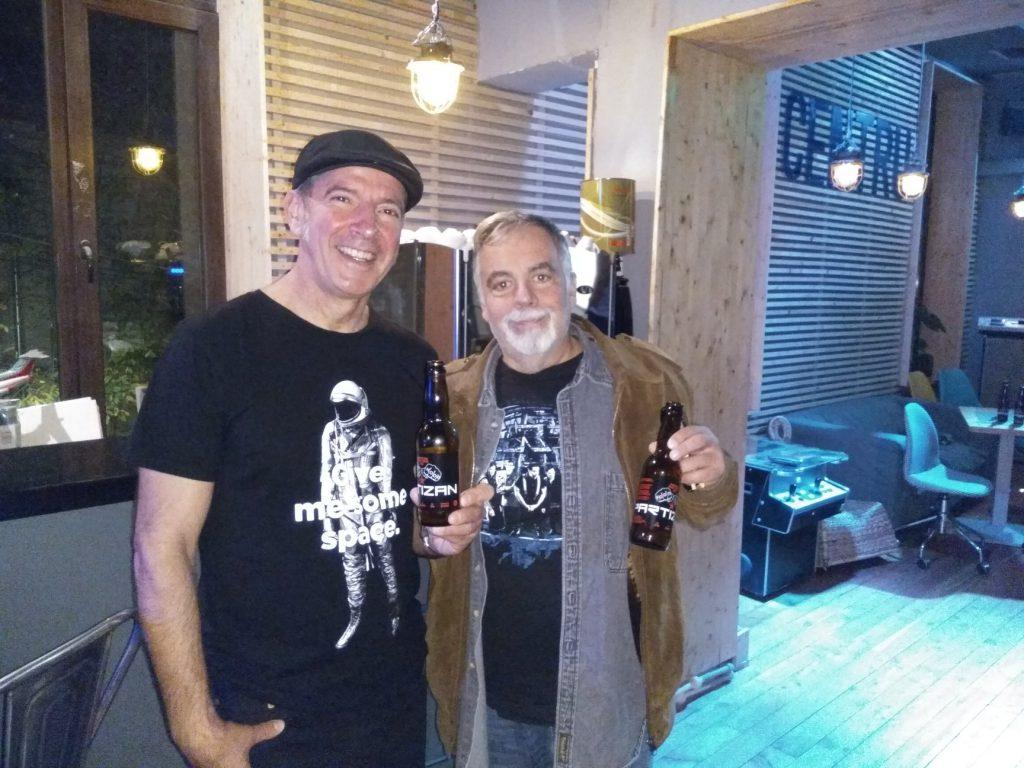 Artan și-a făcut propria bere, Partizan! Băutura artizanală poartă numele trupei sale