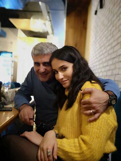 Robert Turcescu și fiica lui, Ioana
