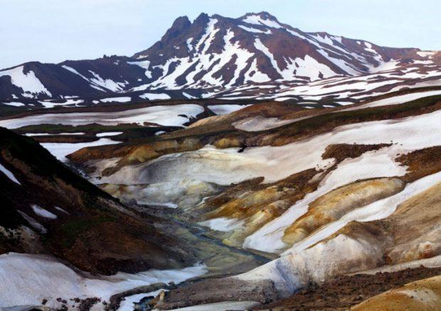 Valea Morții, Kamchatka, Rusia