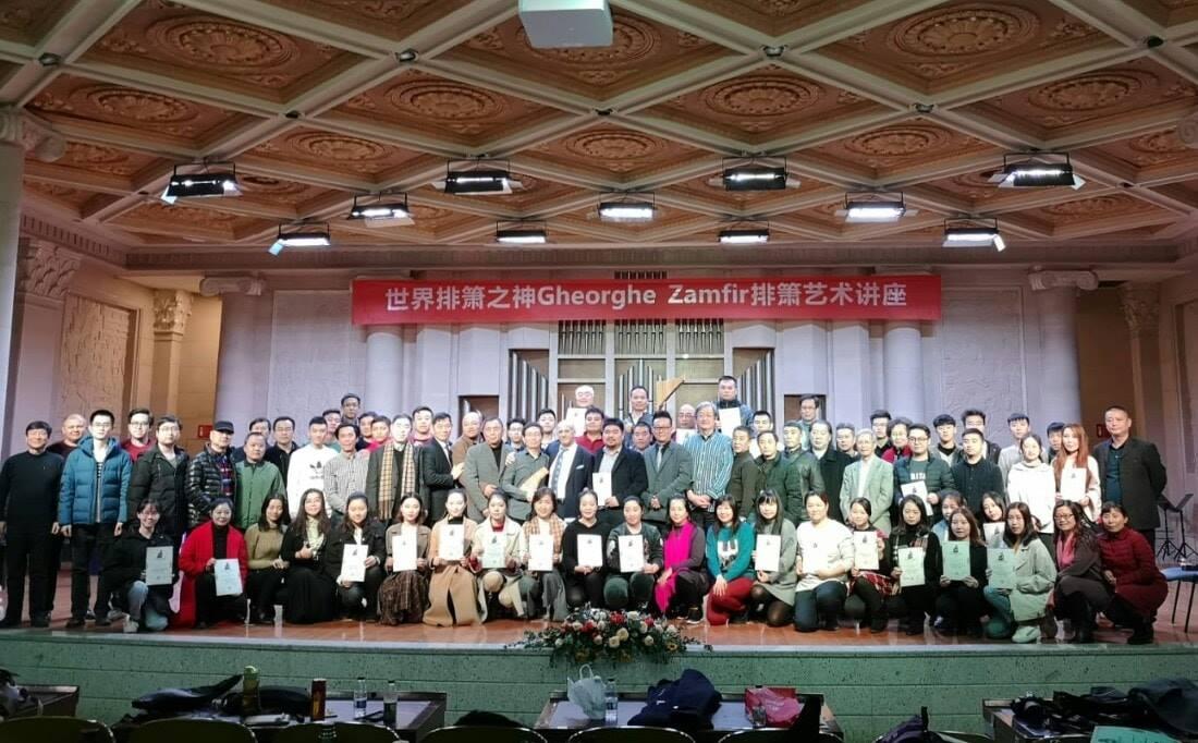 Gheorghe Zamfir, primit ca un erou național în China