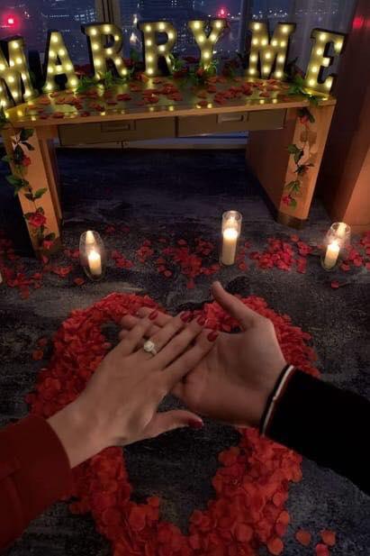 Romanticul Rotariu, cerere în căsătorie ca-n filme