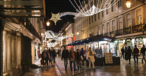 Crăciun în Lisabona: Capitala Portugaliei este şi iarna unul dintre cele mai vizitate oraşe din lume