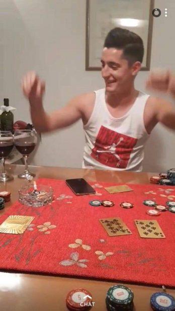 Steliano Filip a băut și a jucat poker înainte de derby-ul Croației. Scene incredibile cu fostul dinamovist. UPDATE. Fostul dinamovist va fi amendat cu 120.000 de euro