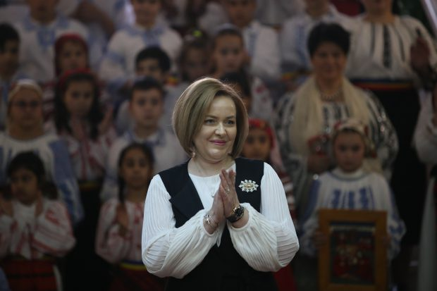 Carmen Dan, ministrul de Interne (FOTO: Vlad Chirea / Libertatea)