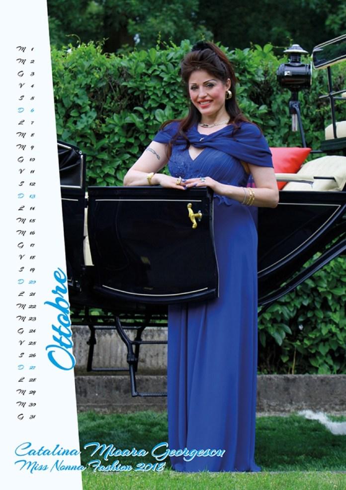 O româncă este una din cele mai sexy bunici din Italia! La 49 de ani, Cătălina apare în calendarul Miss Bunica 2019