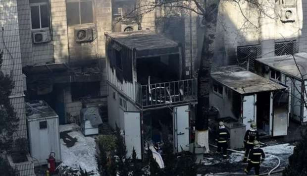 Explozie în laboratorul unei universități din China. Trei studenți au murit în timpul unui experiment / FOTO