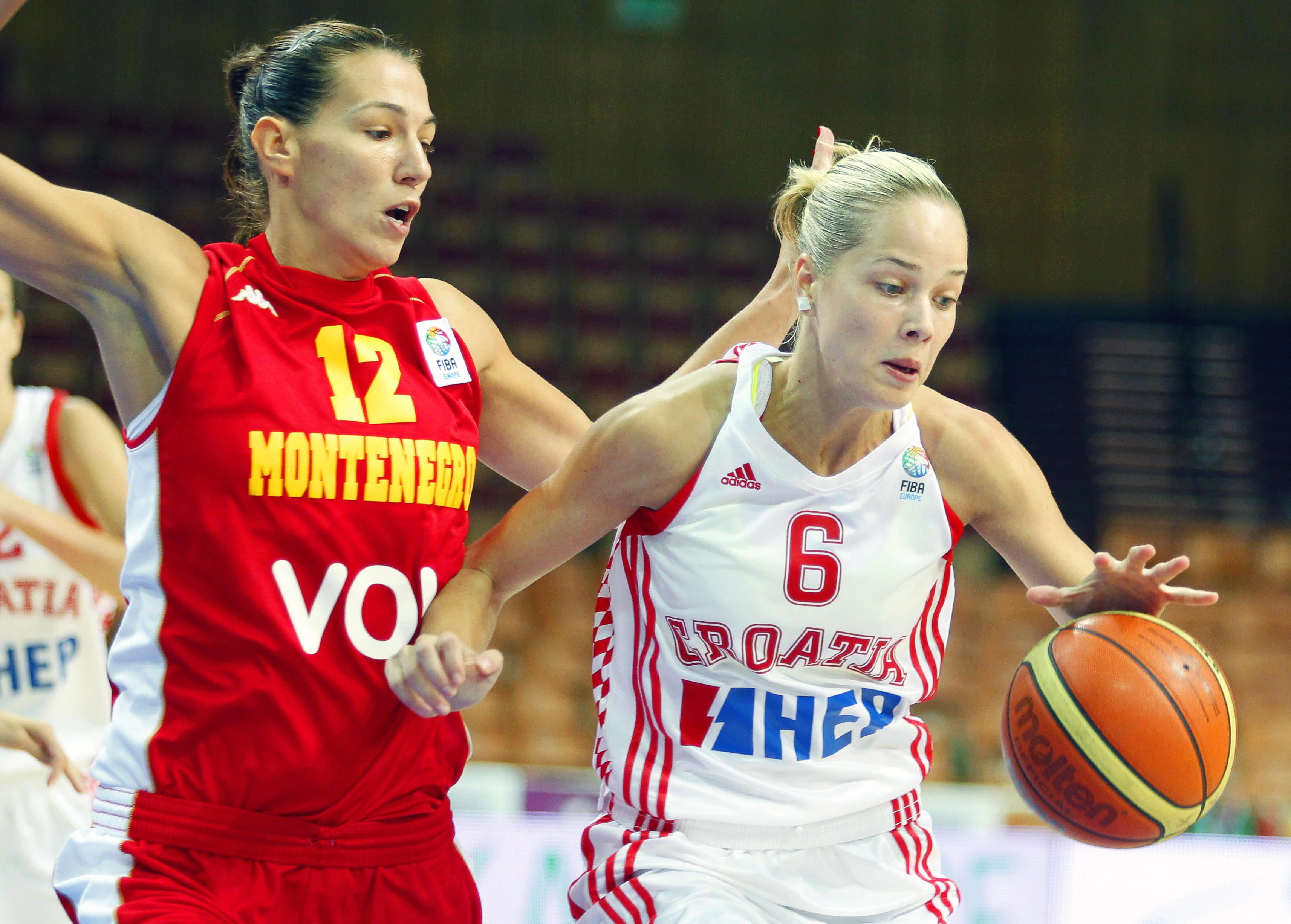 Cele mai frumoase sportive din lume. LOCUL 2: Antonija Misura (30 de ani, Croația, baschet)   FOTO și VIDEO