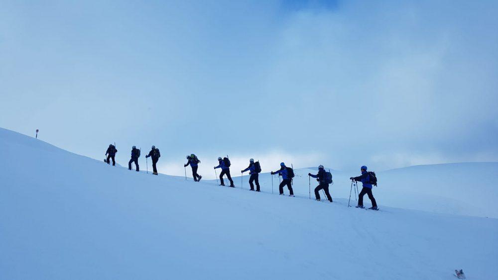 Jandarmii montani care au pus tricolorul pe cei mai înalți munți din România, în 2018, cu ocazia Centenarului Marii Uniri