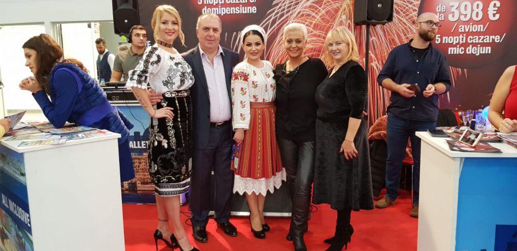 Letiția Moisescu cântă în 10 limbi