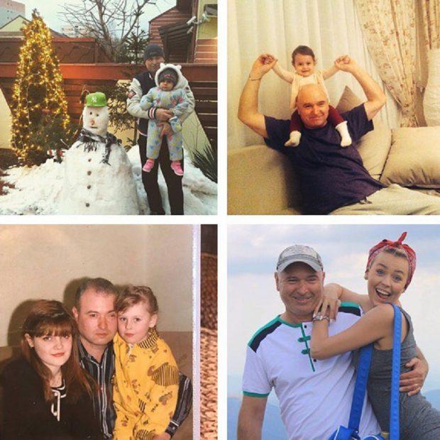 """Misha, mesaj emoționant pentru tatăl ei înainte de Crăciun. """"Te iubim"""""""