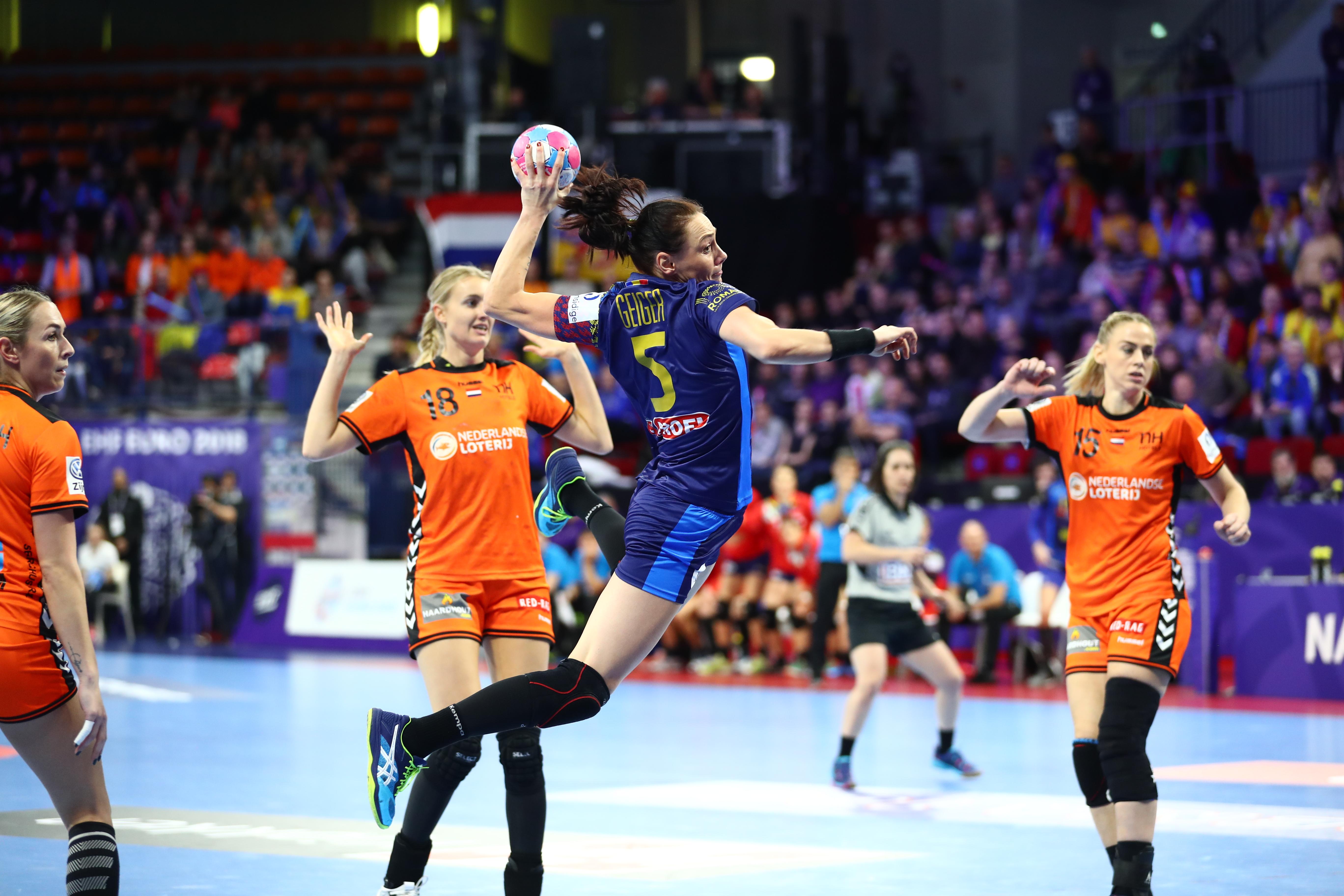 România a pierdut cu Olanda, iar calificarea în semifinalele Euro 2018 de handbal feminin se complică | VIDEO&GALERIE FOTO