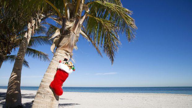 Mulţi merg în această perioadă în Doha, capitala Qatarului, pentru a celebra Crăciunul la soare, pe plajă