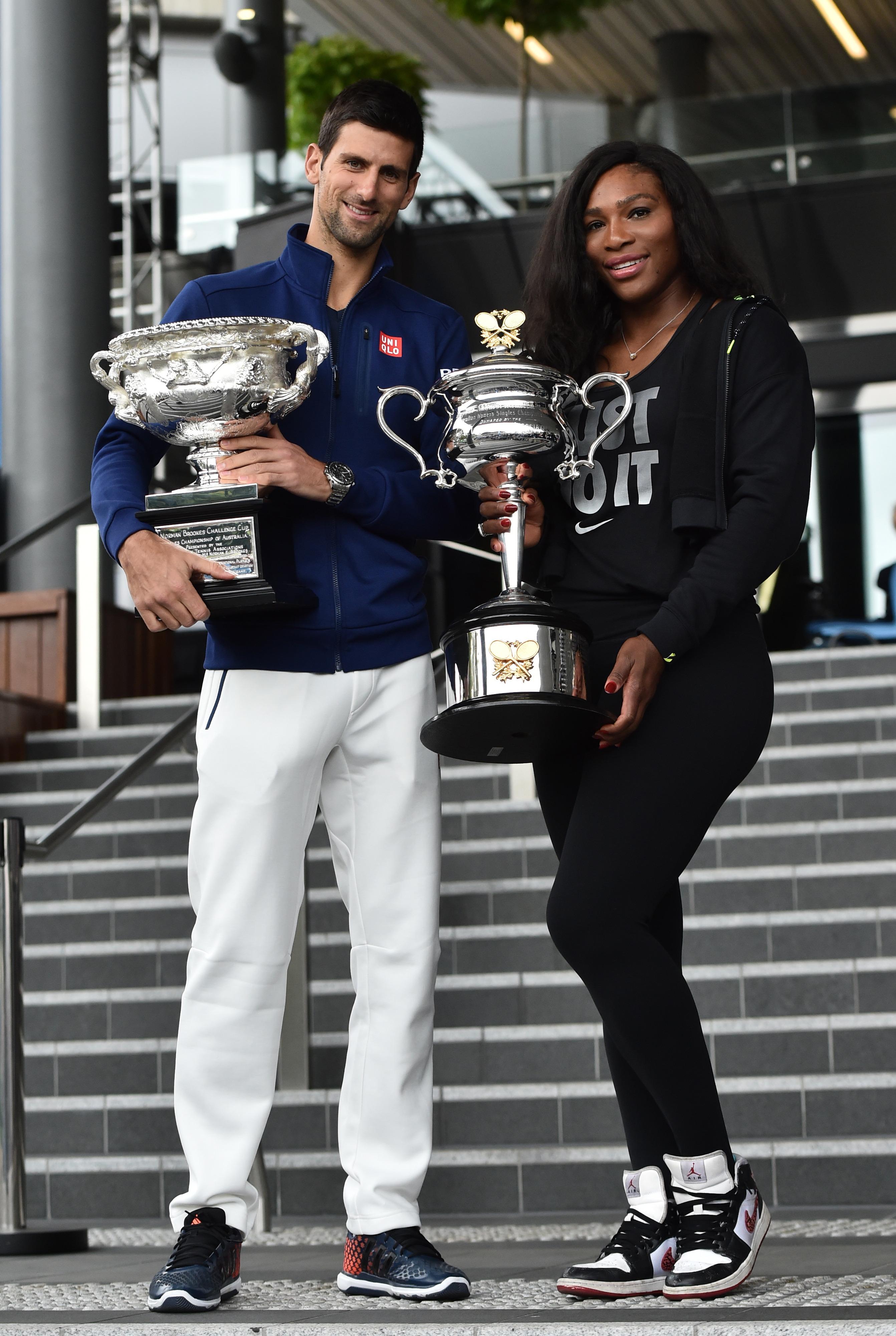 Djokovic și Serena sunt doi dintre cei mai buni jucători de tenis din istorie