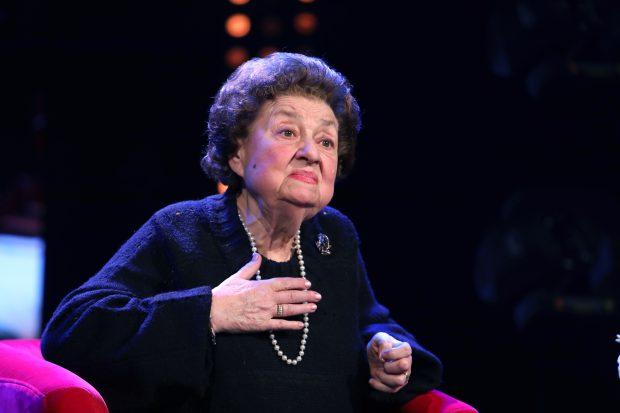 Tamara Buciuceanu - Botez, la 89 de ani si 65 de ani de carieră FOTO: Florin Ghioca