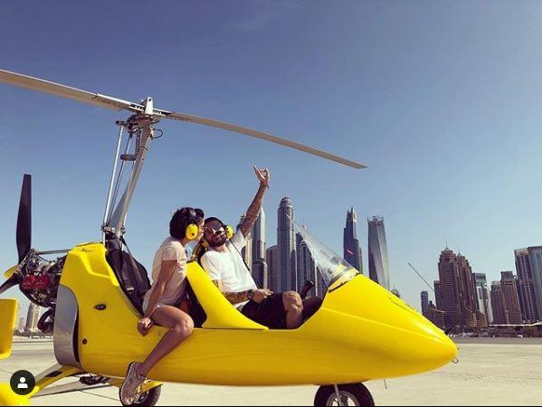 Adelina Pestrițu a vrut să-l plimbe pe Virgil cu girocopterul de ziua lui