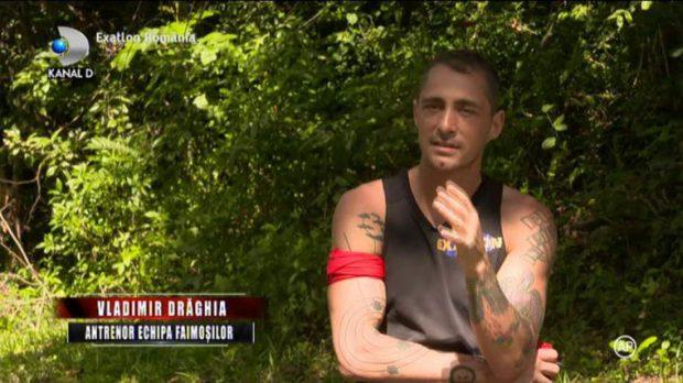"""Primul conflict între Giani Kiriţă şi Vladimir Drăghia, la Exatlon. """"Hai, bă, oprește-te!"""""""
