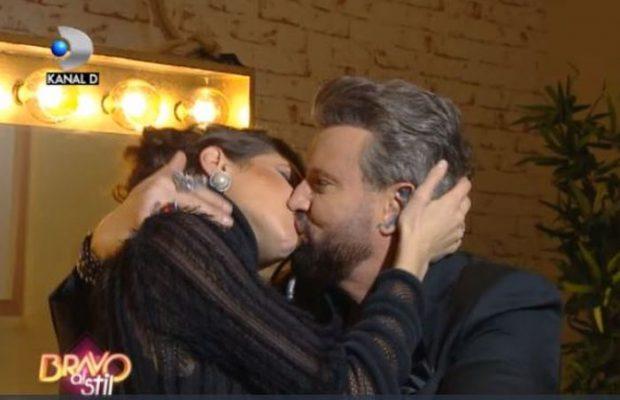 Cătălin Botezatu și Cristina Ich, sărut pasional la Bravo, ai stil