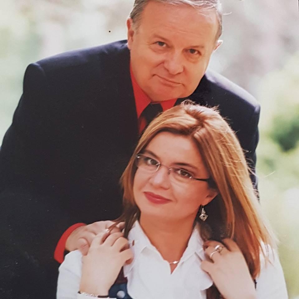 Fotografii nemaivăzute cu Cristina Țopescu și tatăl său. Jurnalista le-a făcut publice