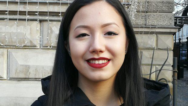 Diana Yu, studentă la Facultatea de Istorie București, ghid la Memorialul Închisoarea Pitești