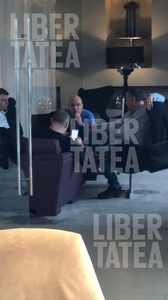 """EXCLUSIV LIBERTATEA: Cozmin Gușă, Dan Andronic și Sebastian Ghiță, fotografiați azi împreună la Belgrad! Gușă confirmă: """"Am băut un șpriț și am discutat despre situația din mass-media"""""""