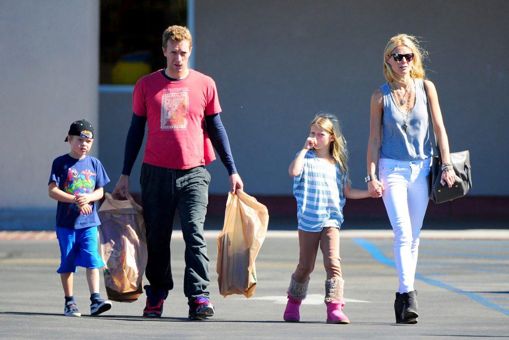 Gwyneth Paltrow și fostul său soț, Chris Martin