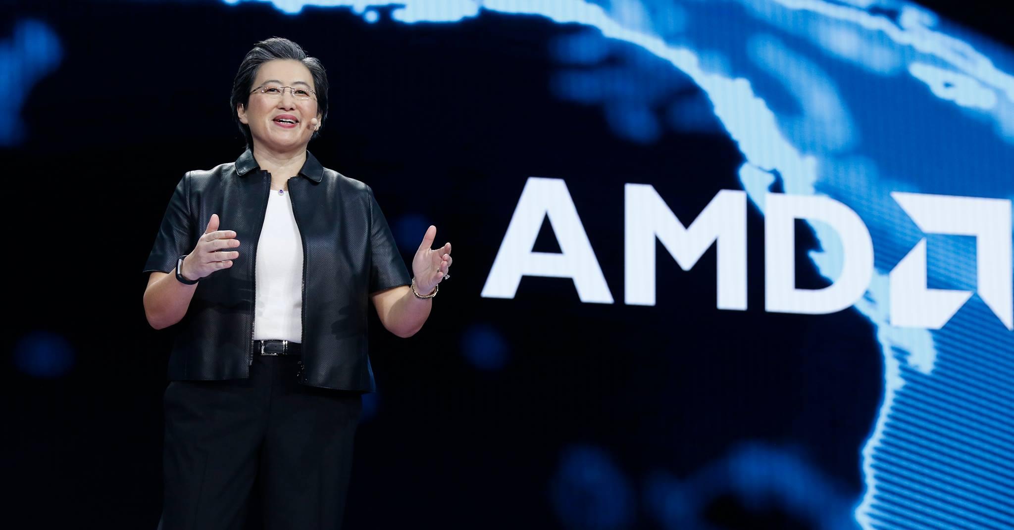 Lisa Su, ;efa AMD, la CES 2019