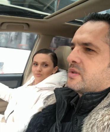 Ce a făcut Mădălin Ionescu la semafor. Cristina Șișcanu a fost luată prin surprindere   VIDEO