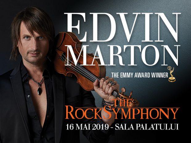 Violonistul Edvin Marton, concert inedit la București. Va avea un repertoriu vast, de la Vivaldi până Metallica