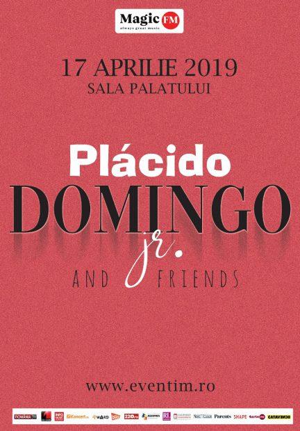 Afișul concertului lui Placido Domingo Jr. de la Sala Palatului