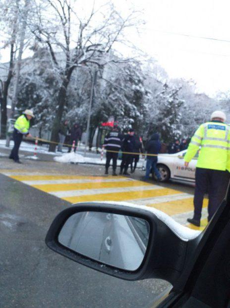 Polițistă din Ploiești, rănită de un șofer care a fugit de la locul accidentului