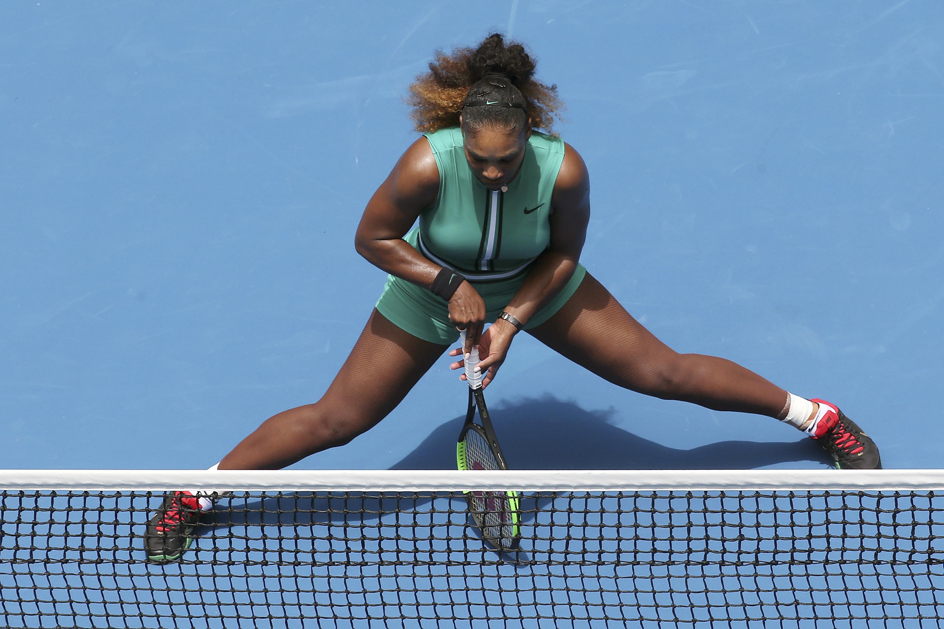 Serena Williams, într-un echipament neobișnuit la Australian Open 2019.