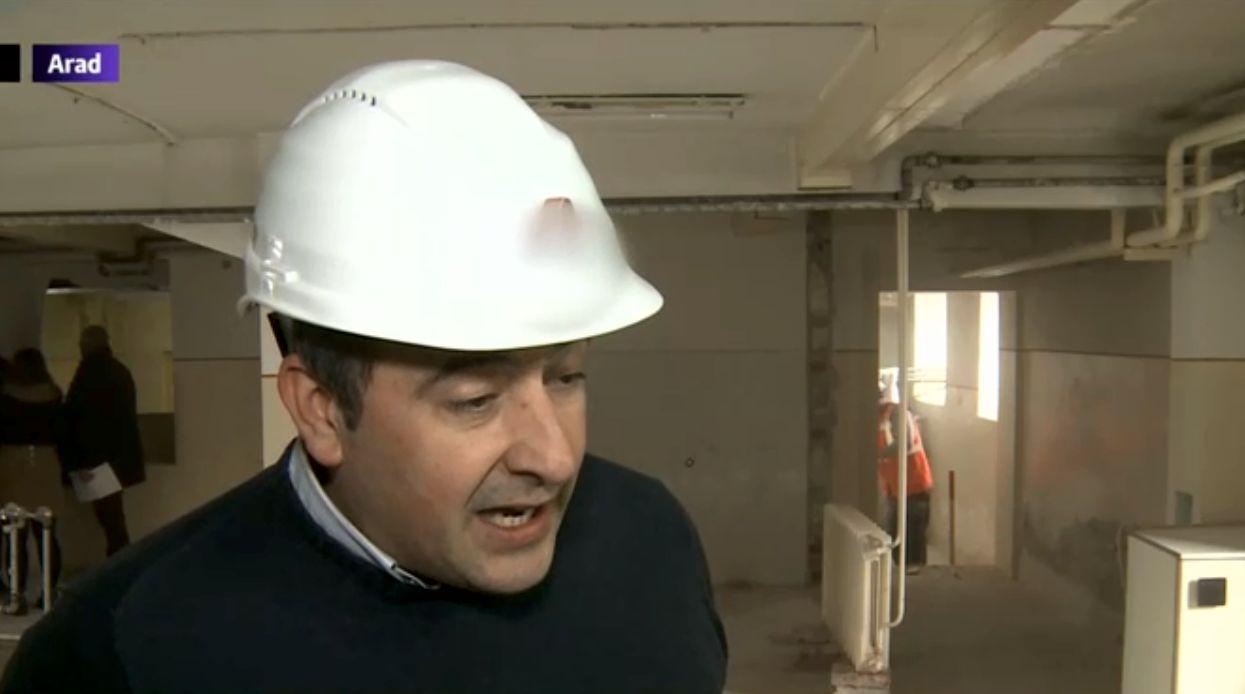 Italianul care a donat 100.000 de euro pentru o secție de spital.