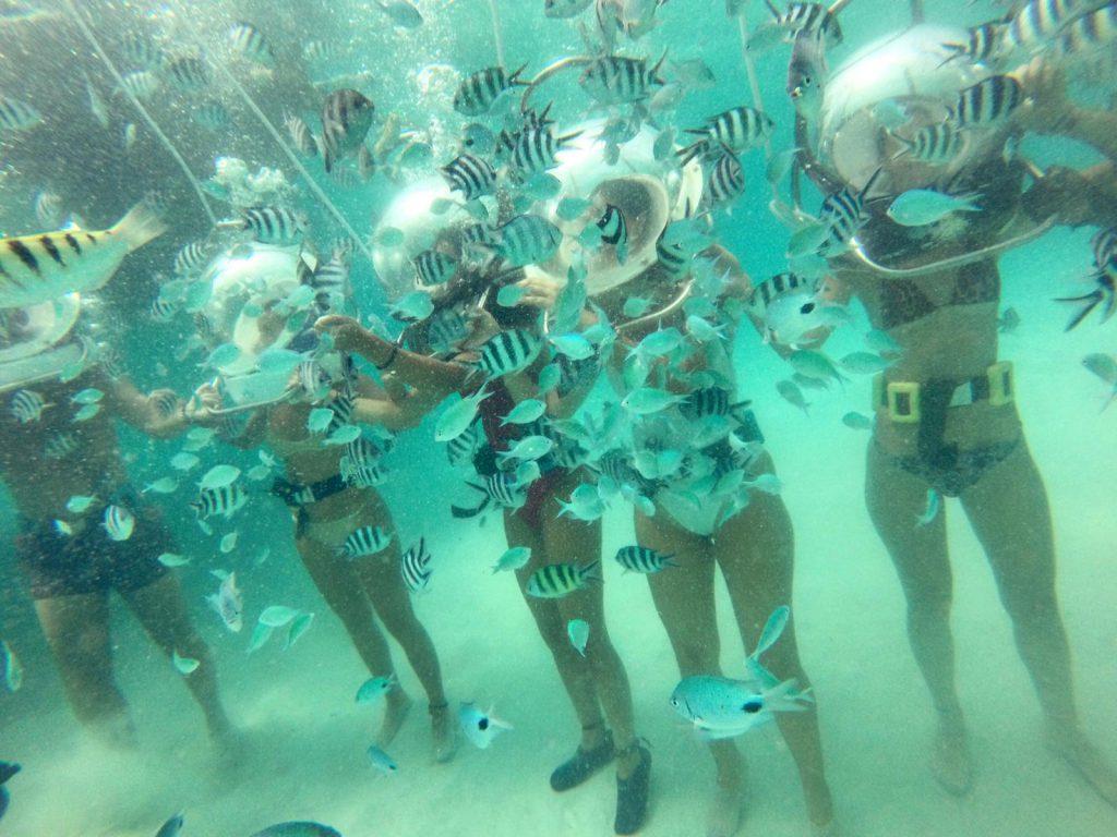 Ruxy ex-LikeOne a mers pe fundul mării în Mauritius