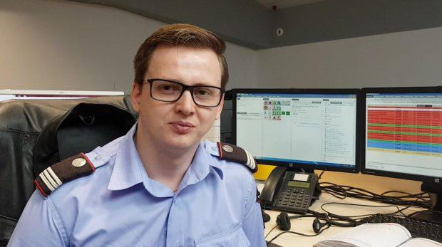 Alexandru Vadan, ofițer în Dispeceratul ISU