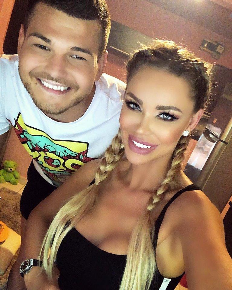 Bianca Drăgușanu, alături de Răzvan Botezatu