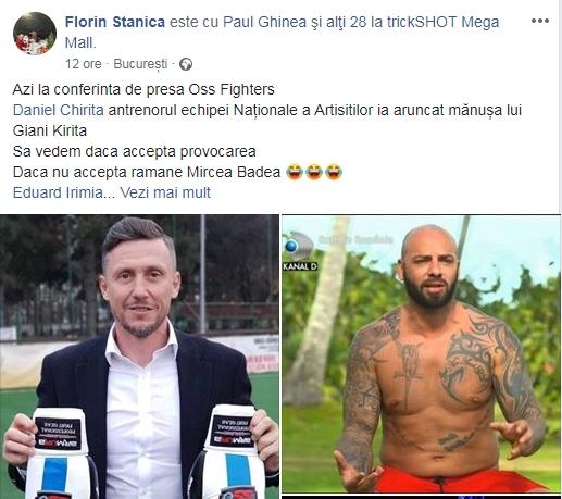 Mircea Badea a fost provocat să urce din nou în ring. Cine vrea să se lupte cu omul de televiziune