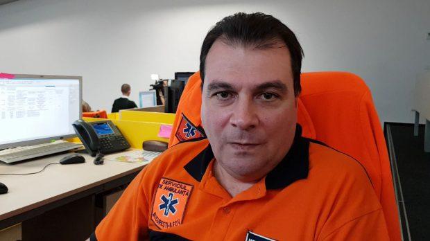 Medicul Corneliu Răileanu, coordonator la Serviciul de Ambulanță București-Ilfov