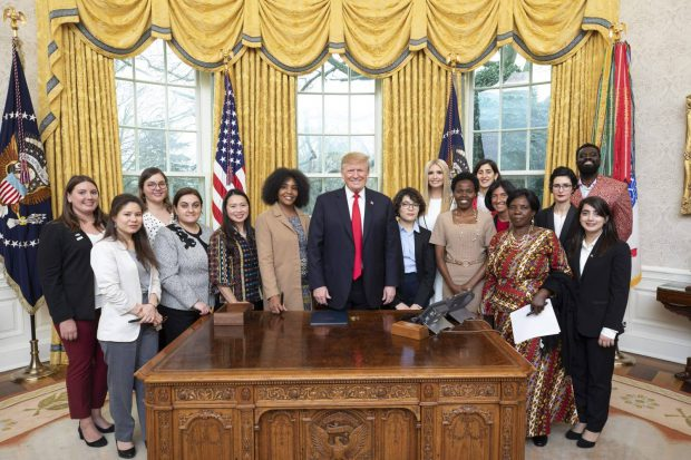 Daniela Staicu a fost invitată de Donald Trump la Casa Albă