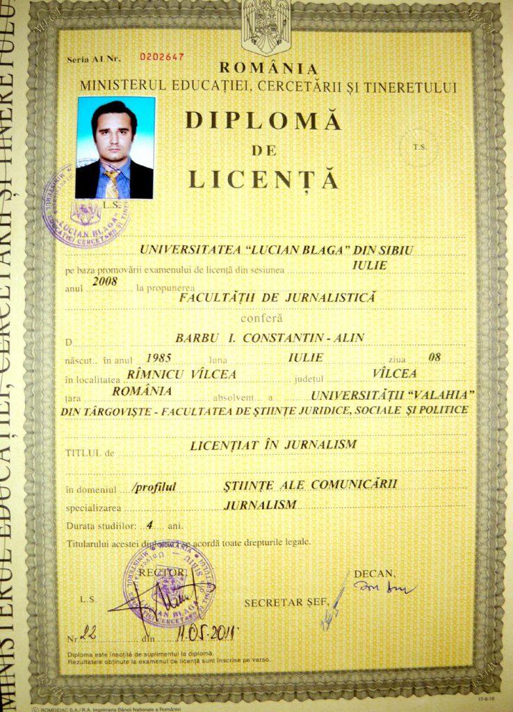 """Facultatea de Medicină a descoperit diploma reală falsificată de """"ginecologul"""" de la Spitalul Ilfov: """"Îi aparține unui absolvent de jurnalism din 2008, iar Raluca Bîrsan a folosit niște ștampile false"""""""
