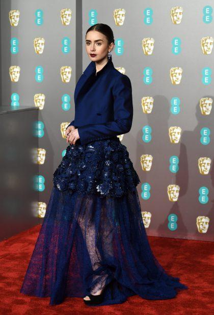 Actrița Lily Collins