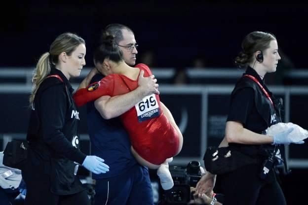 Vestea bună primită de gimnasta Larisa Iordache. Are undă verde de la medic să se întoarcă în sala de antrenamente