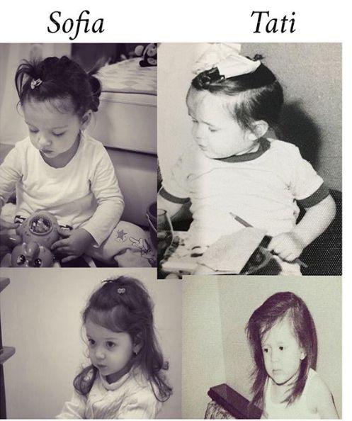 Cât de mult seamănă Sofia Natalia cu tatăl ei, Victor Slav. Nici cea mai mică o diferență între ei