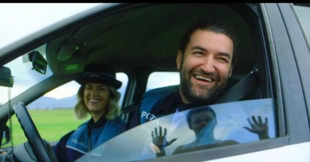 """VIDEO/ Iubiți în viața reală, Smiley și Gina Pistol joacă în """"Oh, Ramona"""". """"Nu avem legătură unul cu altul în film"""""""