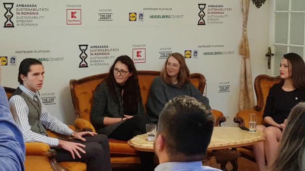 Trei dintre reprezentanții Generației Z din România, invitați la un eveniment dedicat companiilor și campaniilor de Responsabilitate Socială