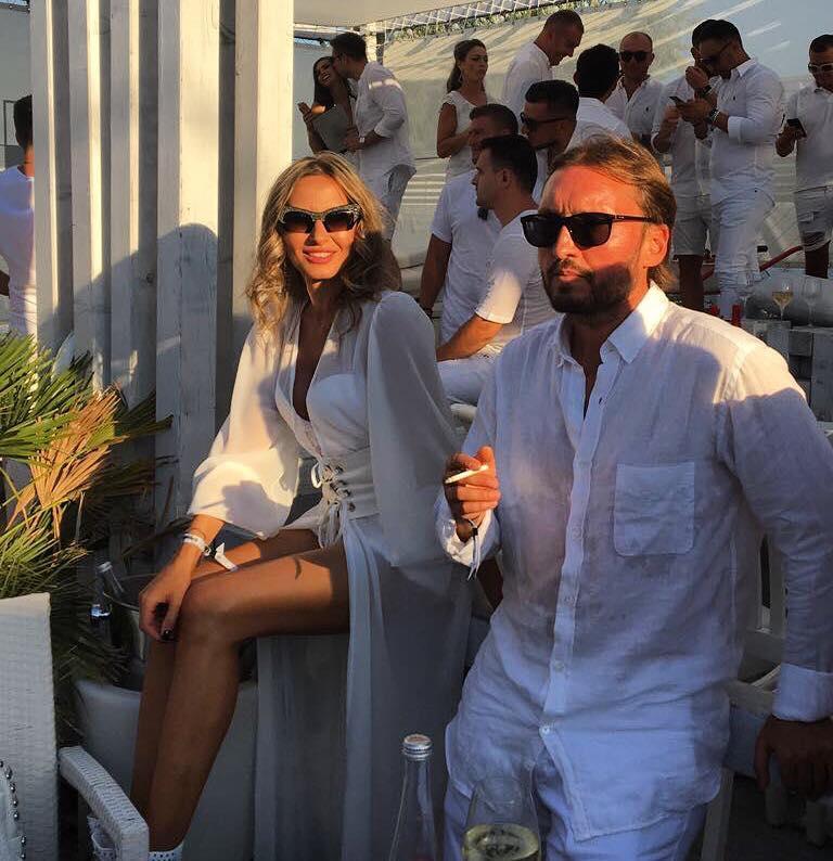 Crina Abrudan cu Gabi Popescu
