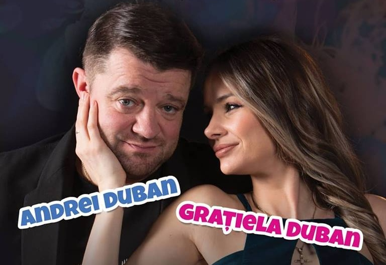 """Andrei și Grațiela Duban, împreună acasă, împreună și pe scenă! Sunt protagoniștii unei piese de teatru despre """"supraviețuirea în cuplu"""""""
