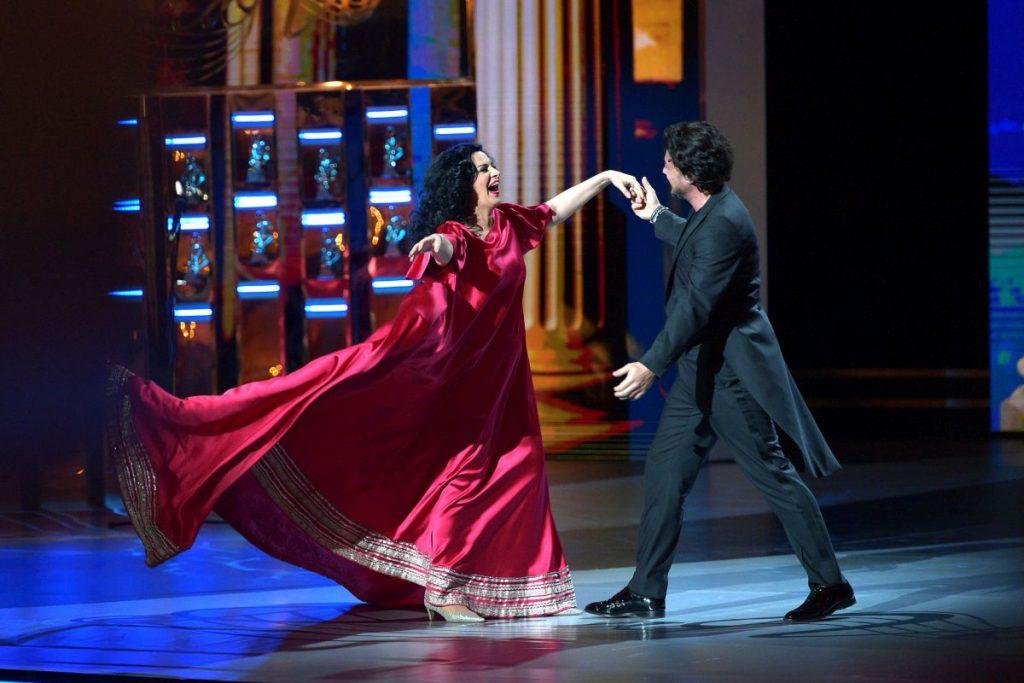 Angela Gheorghiu a făcut senzație la Teatrul Balșoi din Moscova. Soprana a primit un premiu uriaș