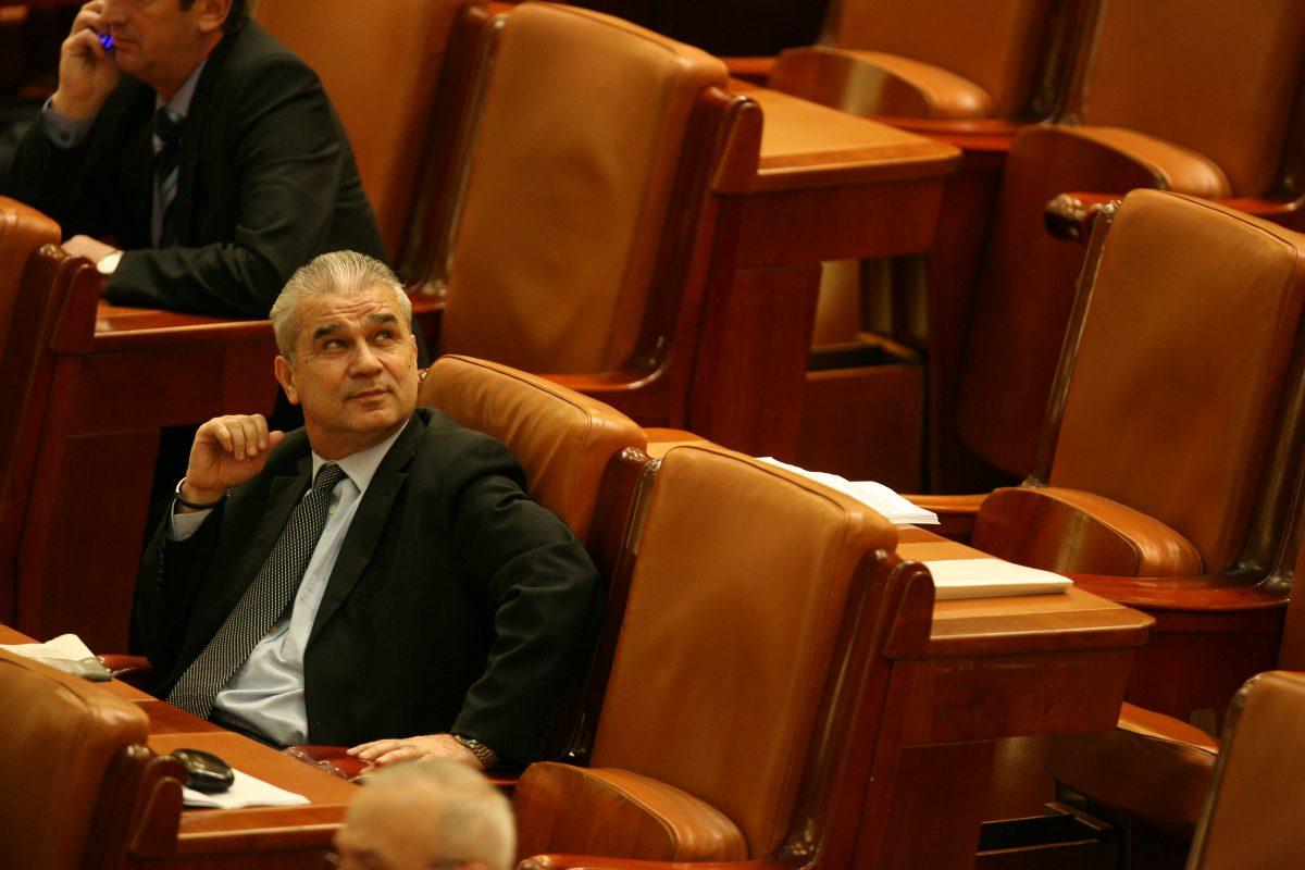 Anghel Iordănescu, în Parlament FOTO: Răzvan Vălcăneanțu